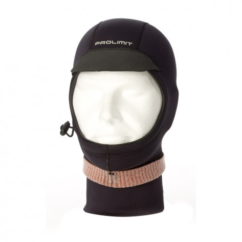 Prolimit Hood cappuccio  Neoprene Hood Exstreme  with visor and collar UNISEX