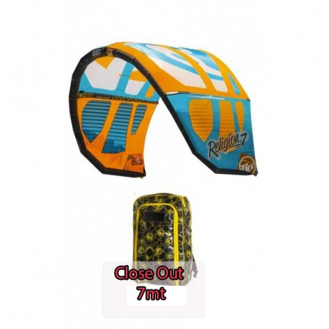 Kite Kitesurf Rrd Religion MKIV 2014 7mt NUOVO FINE SCORATA CLOSE OUT
