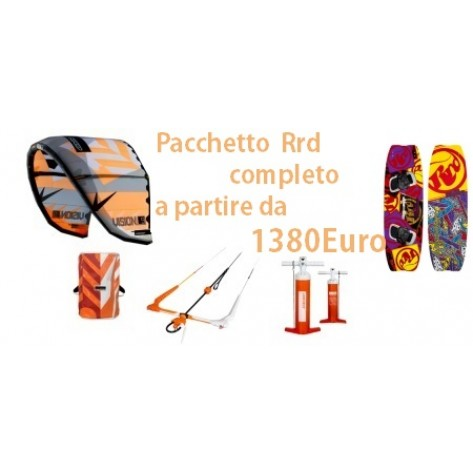 Pacchetto RRD Nuovo  Vision    +  Global Bar V7 +Tavola Placebo  +Pump STATER PACK