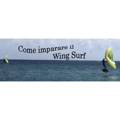 Corso  Singolo 4H  Wing surf  Principianti Voucher Regalo
