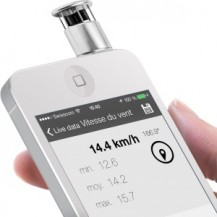 Skywatch  Windoo  1 Anemometro  smartphones Windmeter