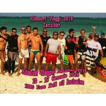 Viaggio KITESURF A ZANZIBAR 2016 Dal 19/01 al 27/01 2016