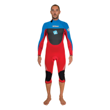 Rrd  wetsuits mute Grado  zip overknee long sleeve  cyano red  3/2 SUMMER