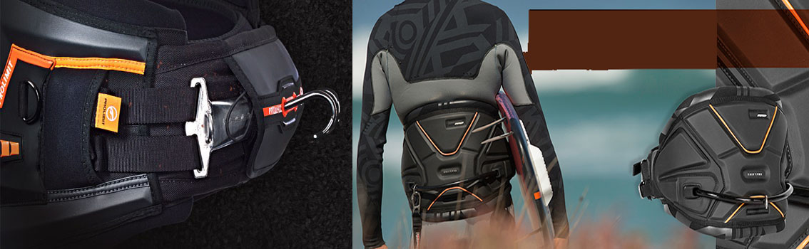 Kitesurfbuy offers all Kitesurf accessories you need! Trapezes Rrd, Underwave, Prolimit, Naish and other brands again !!! To ensure your back more comfort in navigation with the kite ... looking for a good harness with a good value for money in our site Kitesurfbuy!