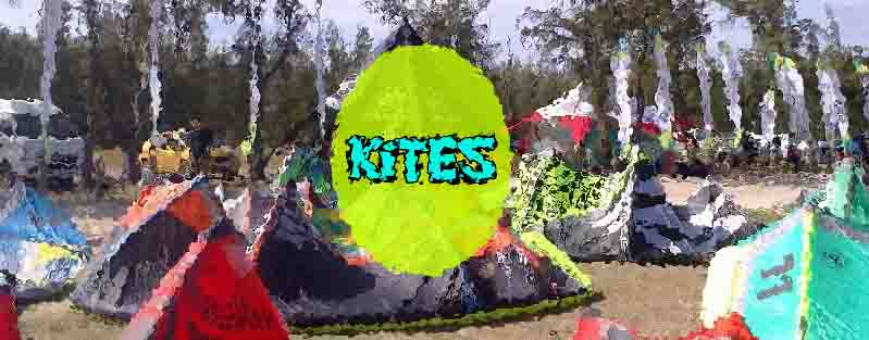 Kite for kitesurfing and kitesurf