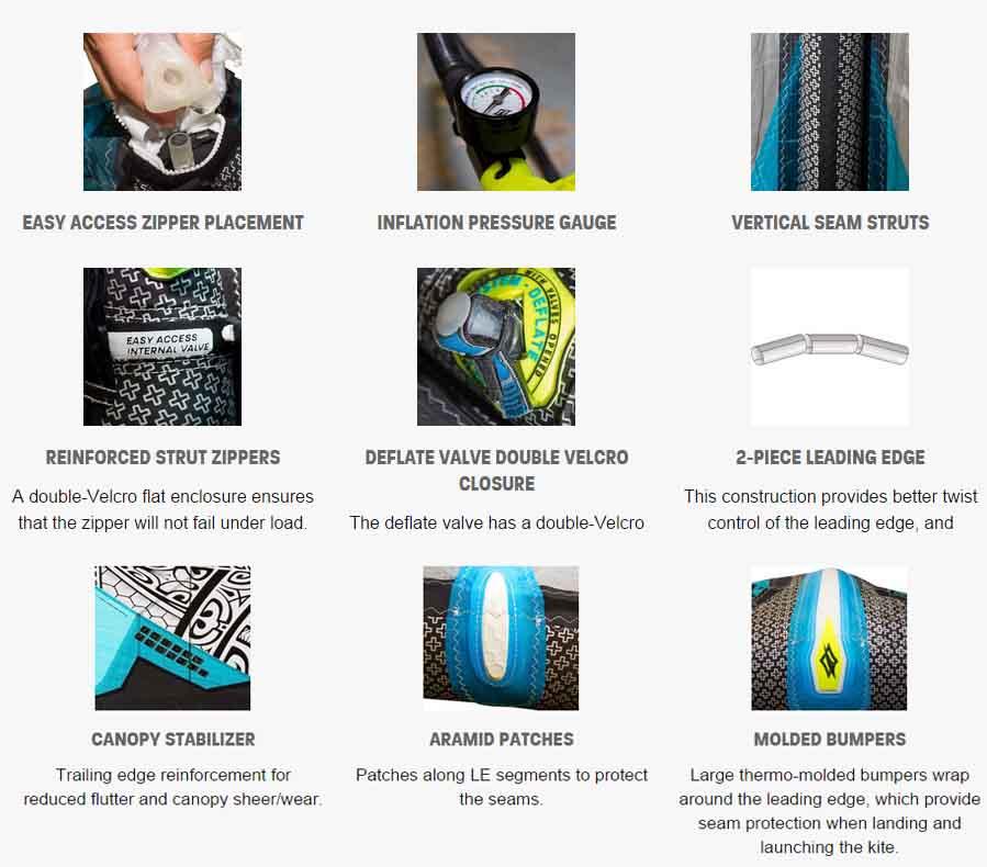 offerte prodotti kite surf kitesurf kite naish park hd 2016 freeride freestyle kite ala vela. Black Bedroom Furniture Sets. Home Design Ideas