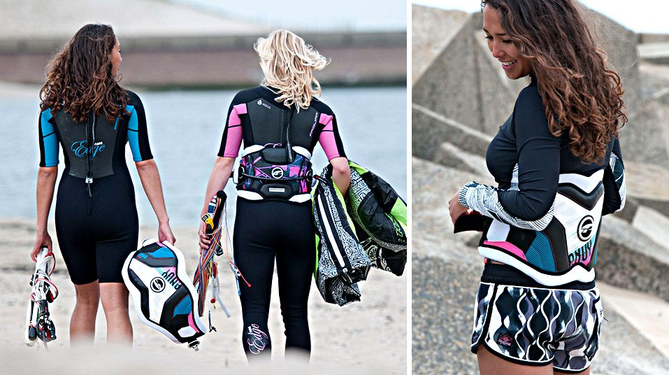 Shape and technology is our DNA and you can be assured that shape and technology is the base of every single product. Best fit, superior comfort combined with the newest technologies and made out of high quality materials by the best skilled professionals available.  Pure focus on wetsuits, harnesses and accessories. We constantly work with our entire team on just these product groups with an intense focus and the desire to make the best out of it. Our complete design team spends hours on the water as well and every comment from our Pro team riders is evaluated by our design team themselves. Whatever we do and regardless of fashion trends, our designs should be the best possible product we can build at that time.   Find out more about:  Wetsuit tech  Harness tech  Boom tech  Boot shape  Size chart