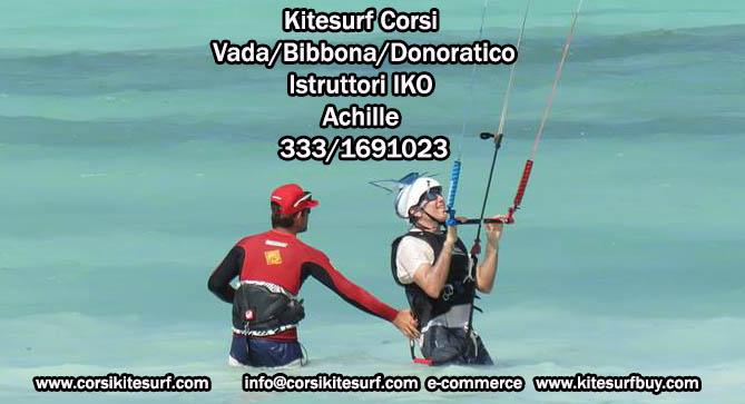 Kitesurf corso Introduttivo 21-22 Marzo 2015 Toscana Italia