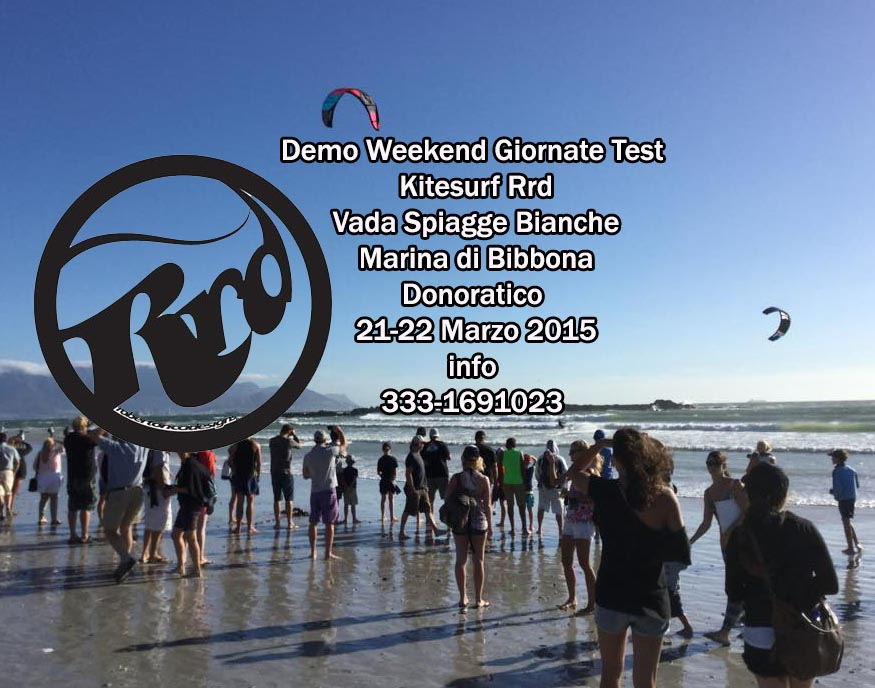 Kitesurf test Materiali Marzo 2015 RRD Demo Weekend