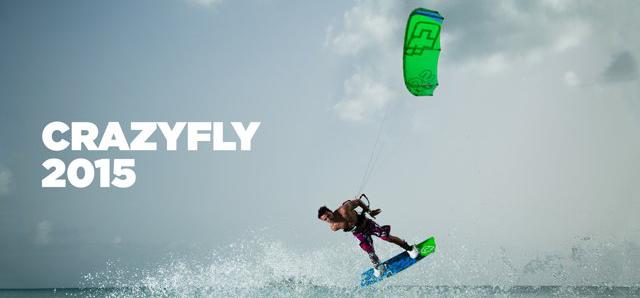 Kitesurf Crazyfly 2015 La nuova Linea di attrezzature per il Kitesurfing