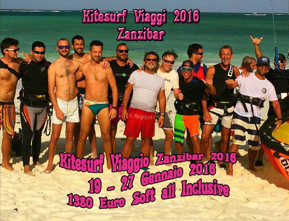 kitesurf viaggio Zanzibar 2016 Il Trip Dell'anno non potete mancare !!!