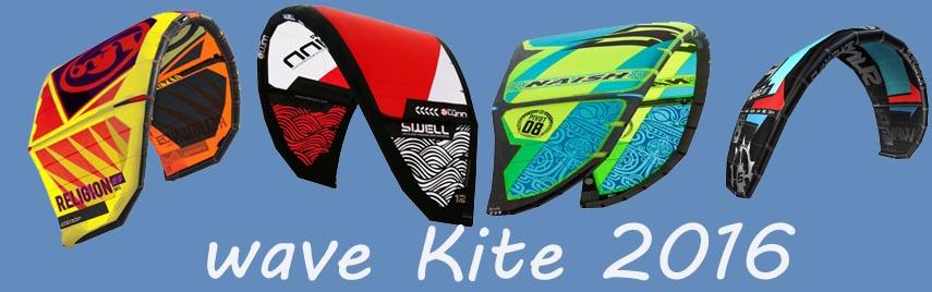 Kitesurf Kite Waveriding 2016