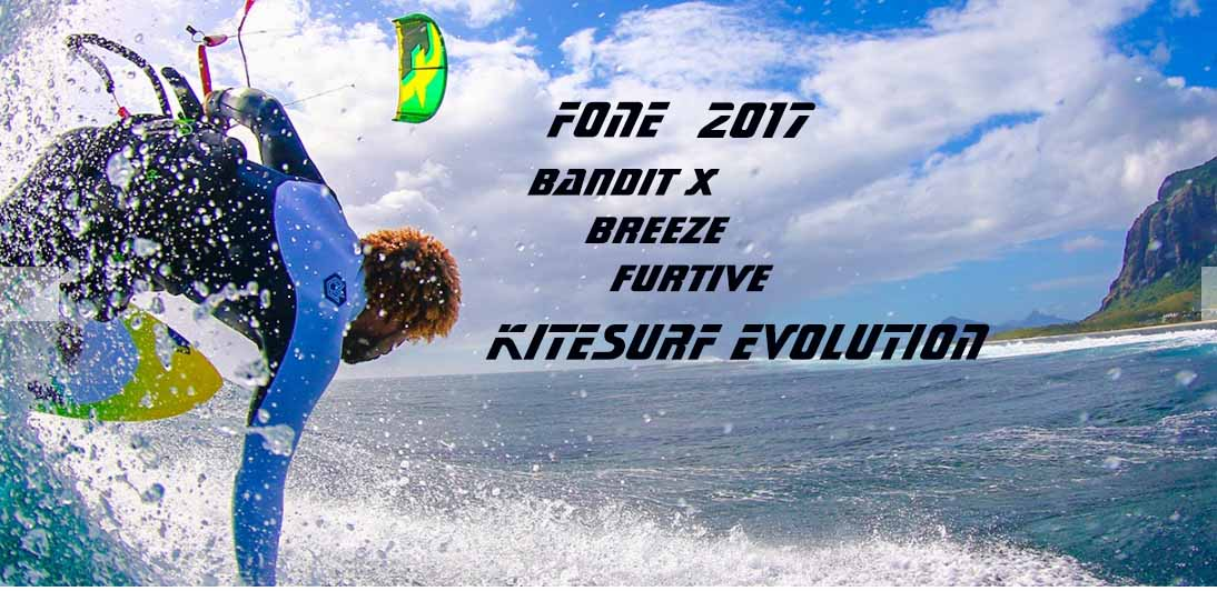 Tutte le  novità F-one 2017 Kite  Evolution
