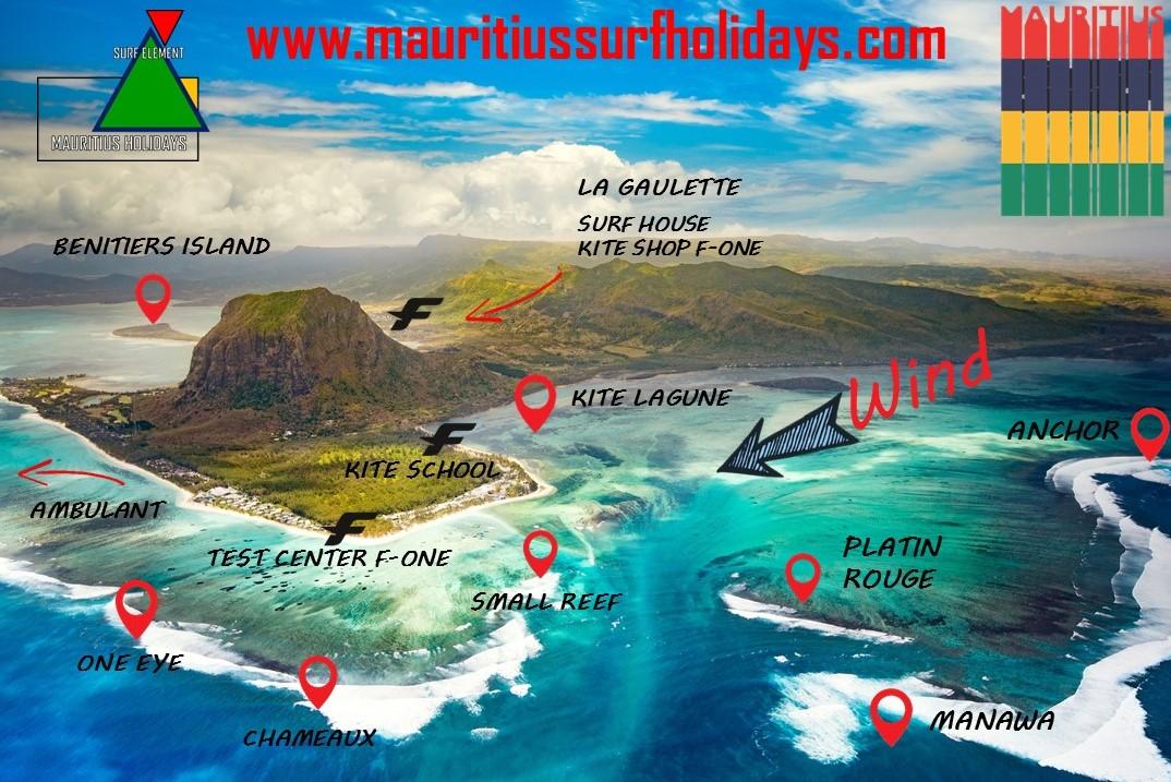 Mauritius Surf Holidays Scuola Kite e Surf House a Mauritius