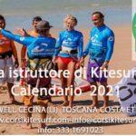 Corso AITC E ITC IKO  diventa istruttore di Kitesurf  Calendario  2021